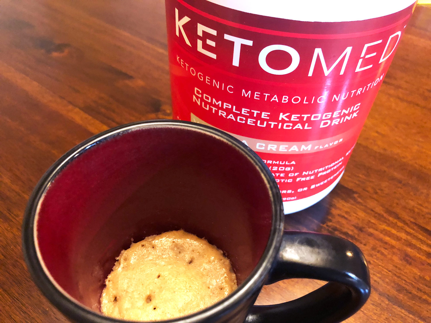 KetoMed Mug Cake