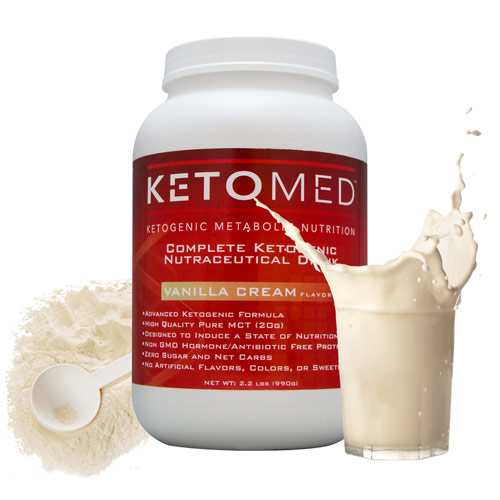 KetoMed Milk Splash
