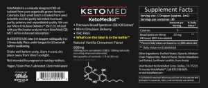 KetoMediol Label